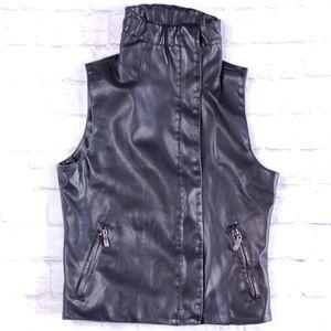 Moda International Leather Vest